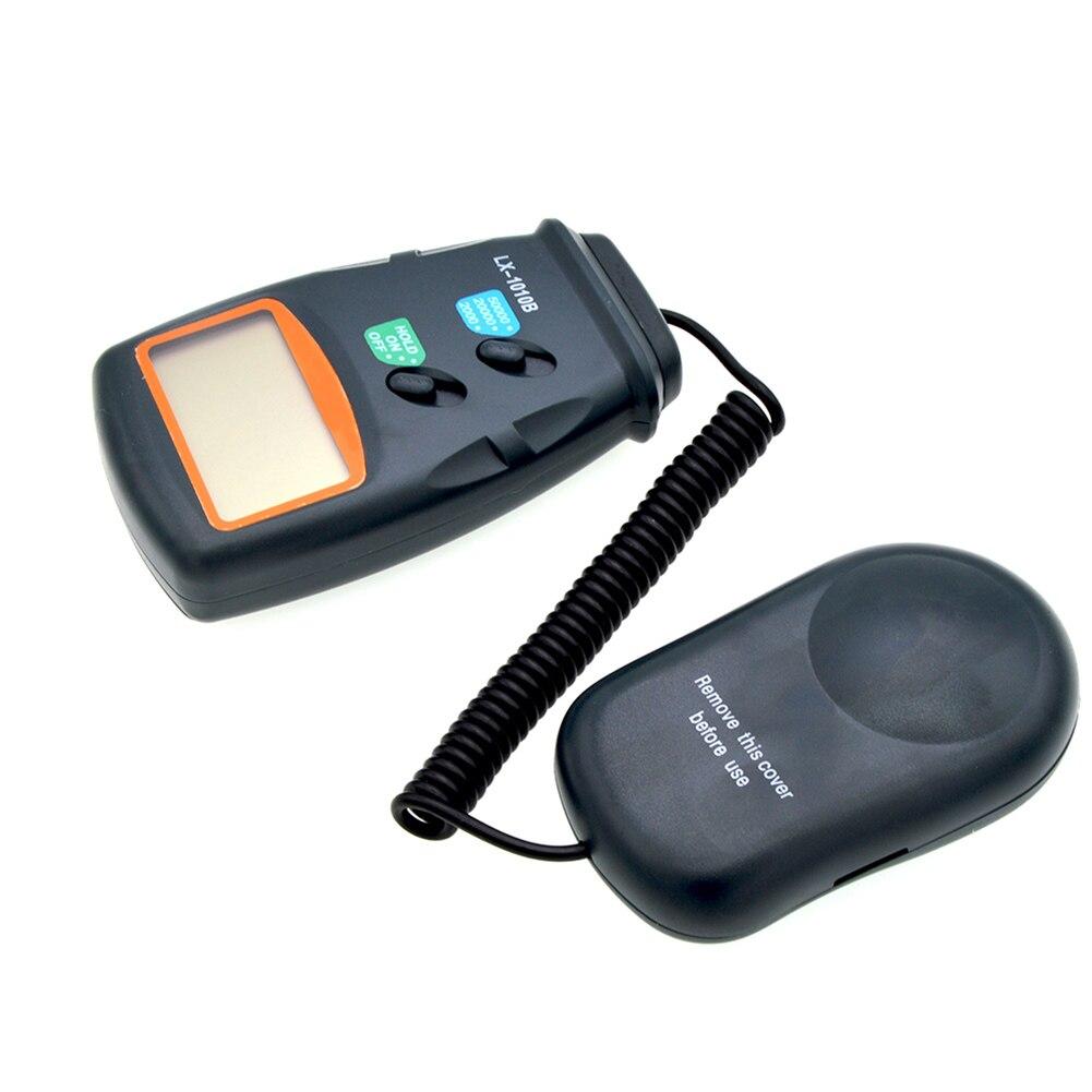 LX1010B Handheld Digital Illuminance Meter Digital Lux Meter with LCD Display 1-50000 Lux Range Physical Measuring Instruments T