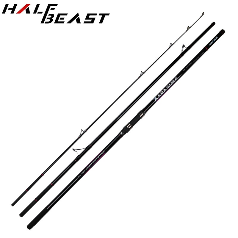 Japan Spinning Rod Tackle Super Hard 4.2m Carbon Sea Anchor Fishing Pole Ultra Light Boat Lure Jigging Rod Offshore Angling Rock enlarge