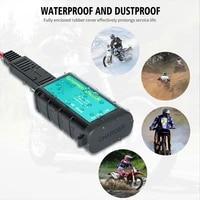 12v 24v sae socket motorcycle usb charger adapter voltmeter for motor motorbike scooter mobile phone type c port waterproof