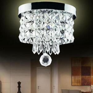 Factory Wholesale Crystal  Led Ceiling Lamp Porch Corridor Bedroom Living Room Ceiling Light Kids Room Lamp For Living Room