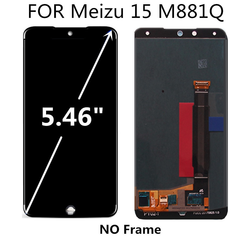 AMOLED FOR Meizu 15 M881Q LCD Display Touch Screen Digitizer Assembly Replacement Accessories enlarge