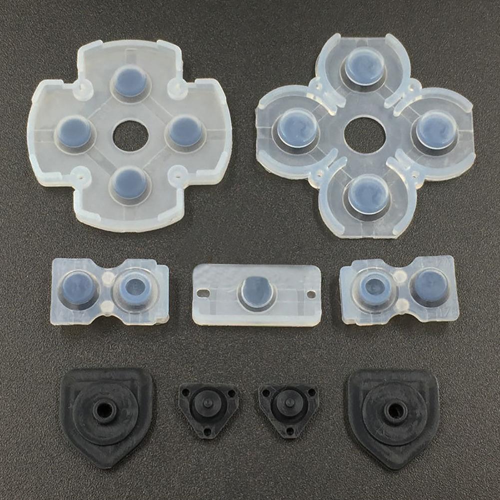 Оригинальный оригинальный Запасной силиконовый геймпад проводящая панель для PS4 контроллер запчасти для ремонта кнопки контроллера конта...