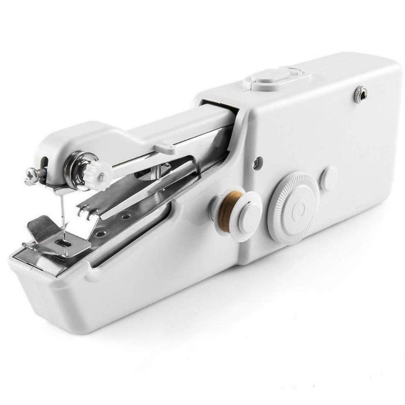 Mini Handheld Manual Sewing Machine Portable Handy Home Sewing Quick Hand-Held Single Stitch Handmade DIY Tool