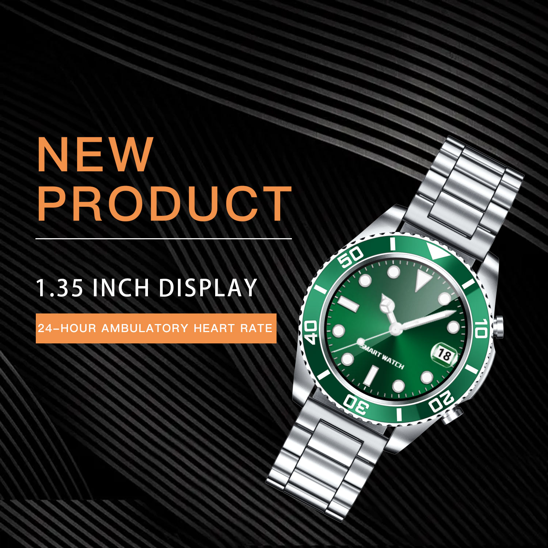 Luck Angel SW5 Smart Watch 2021 Men Sports Men's Wristwatch Luxury Music Watches Fitness Bracelet Samsung Galaxy Smartwatches