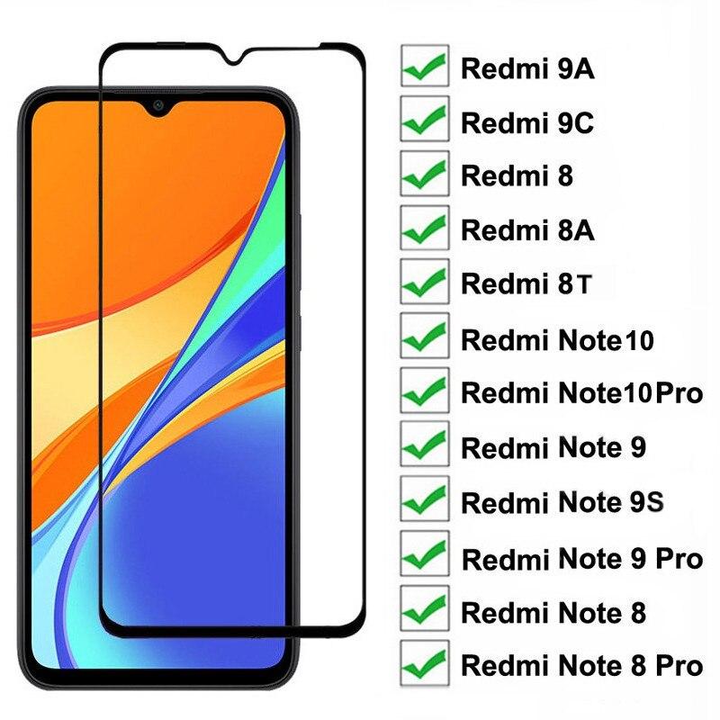 9D 9H de cristal templado Xiaomi Redmi Note 8 9 Pro Max...