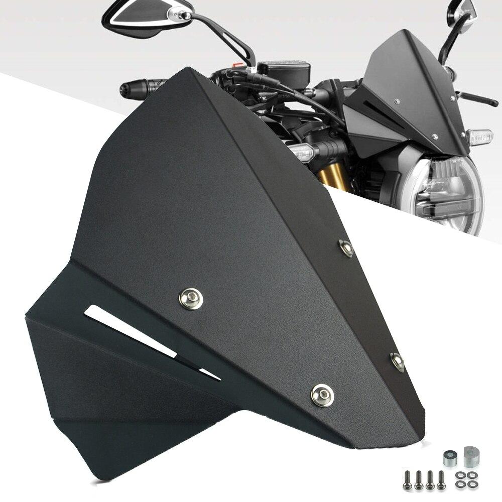 دراجة نارية الرياضة قناع Viser الزجاج الأمامي يناسب ل CB650R 2019 2020 CB650-R 19-20 مزدوجة فقاعة cb650r Neo الرياضة مقهى