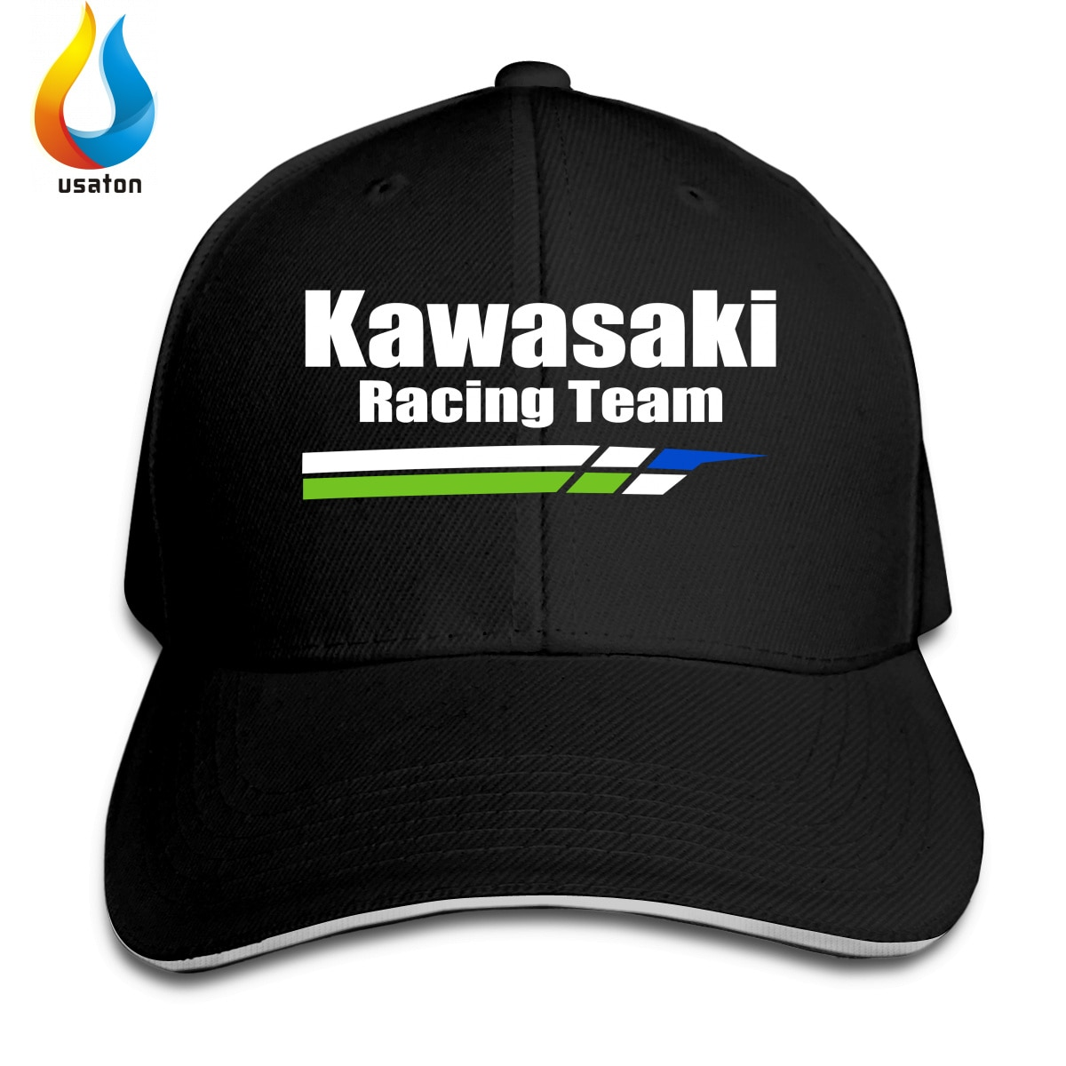Kawasaki Racing Women Men Baseball Caps Female Male Sport Visors Sun Hat