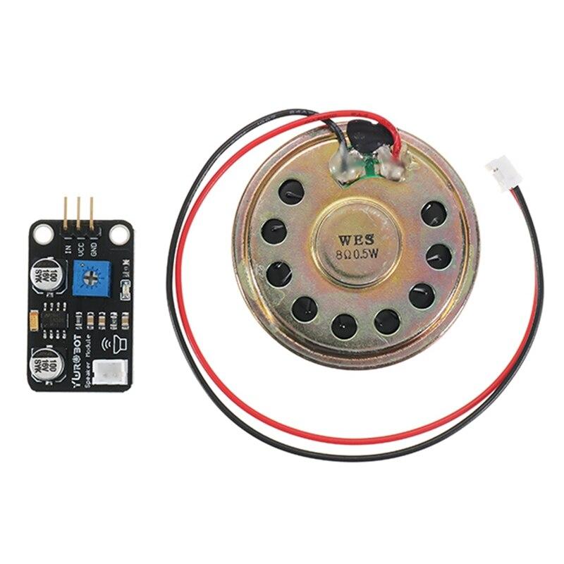 Módulo de altavoz amplificador de potencia reproductor de música bloques de construcción electrónicos amplios para Arduino