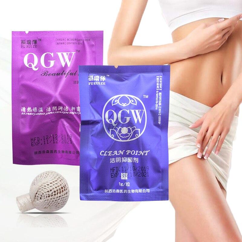 3 pièces médecine chinoise femmes Tampons hygiène féminine écouvillon Tampons décharge toxines gynécologie femmes Tampons vaginaux vie propre