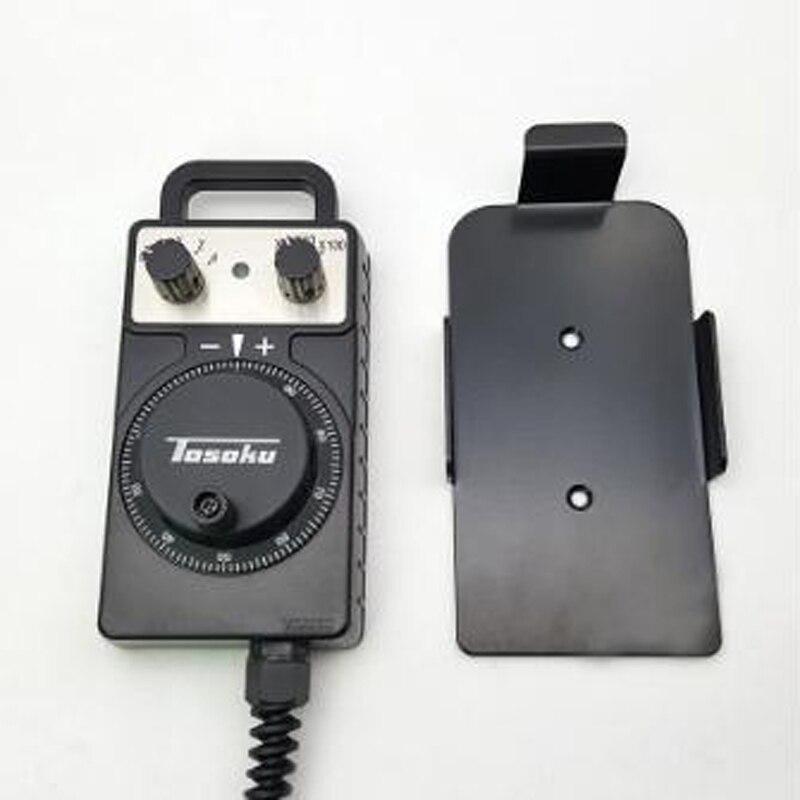 توسوكو HC115 5 فولت 100PPR التصنيع باستخدام الحاسب الآلي مقبض يدوي مولد نبضات ل FANUC MPG