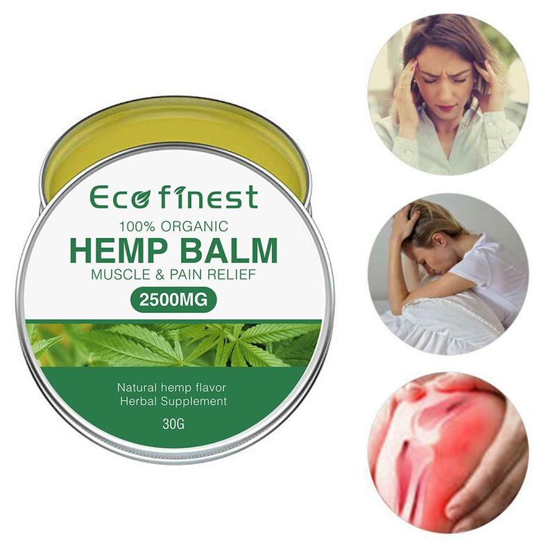 Hemp Cream Anti-inflammation And Pain Relief Max Strength 2500mg And Acne Treatment Herbal CBD Hemp Seeds Cream Relief Arthritis