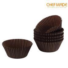 Бумажный вкладыш для кексов, 100 шт., 7 см * 3,3 см, бумажный стаканчик для выпечки кексов, одобренный FDA