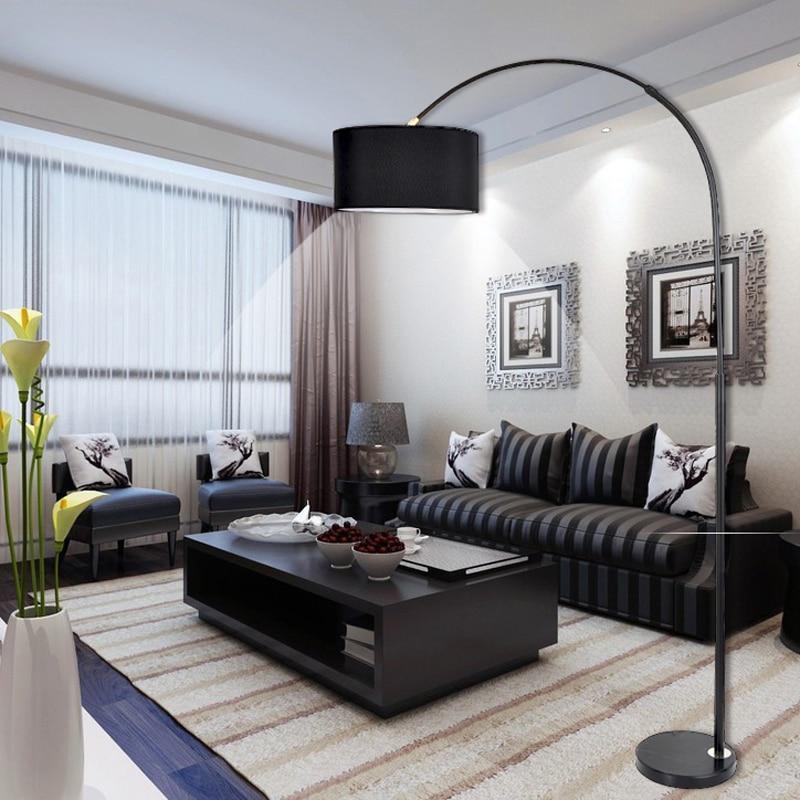 Estilo italiano design criativo led luzes do assoalho moderno artstico criatividade em p lmpada para sala de estar quarto kid