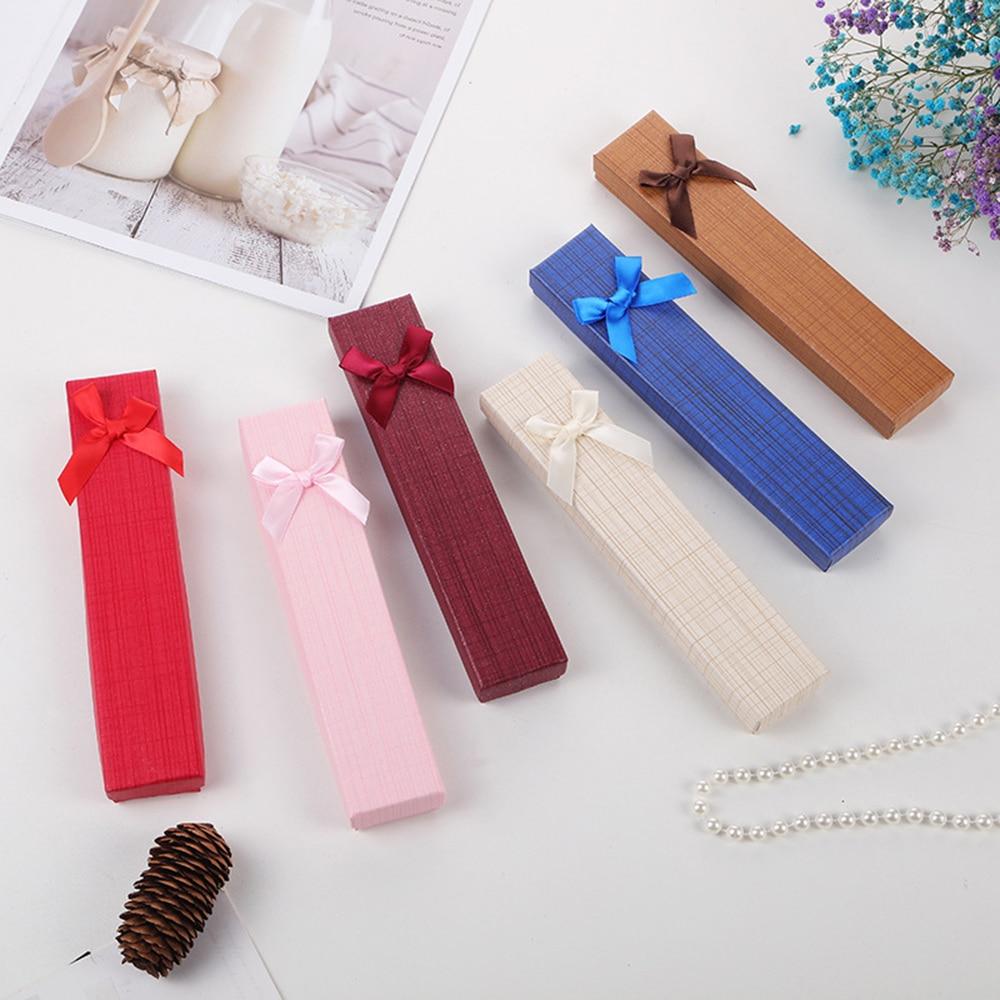 Картонные коробки для ювелирных изделий, маленькие подарочные коробки для ювелирных изделий, ожерелий, контейнер для хранения ювелирных из...