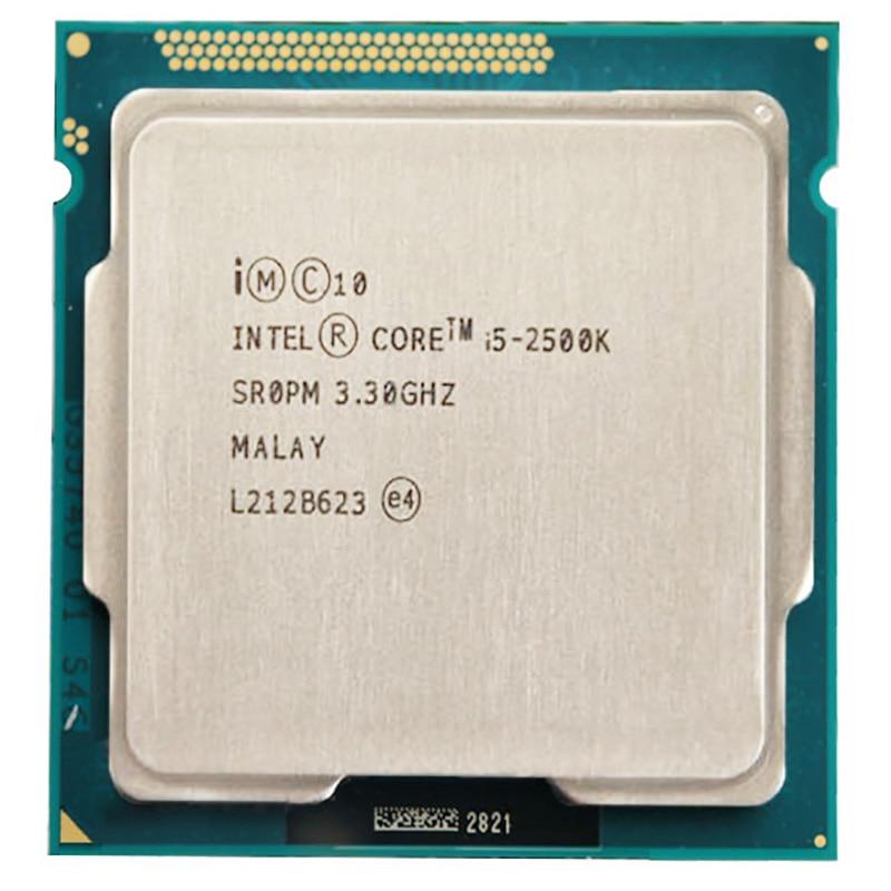 Процессор Intel Core i5 2500K cpu 6M Duad-Core 3,3 GHz 95W Socket 1155 i5-2500K cpu