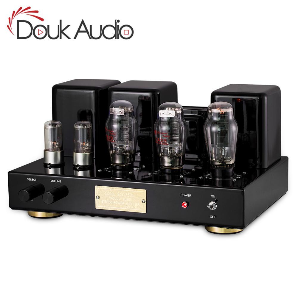Douk аудио Hi-end 2A3 вакуумный ламповый Интегрированный усилитель класса A одноконцевый усилитель мощности домашний аудио усилитель