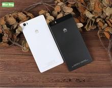Pil Kapağı Için Huawei P8Lite 2015 Geri Durumda Hafif Ve Ince Tamamen Fit Telefon Kılıfı Için Huawei P8 Lite 5.0 inç Pil Kapağı Durumda