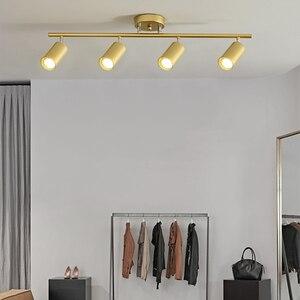LED Ceiling Lights Living room Lamp Nordic Home Lighting For Kitchen Aisle Spot light Surface mounted Spotlight AC 90-260v