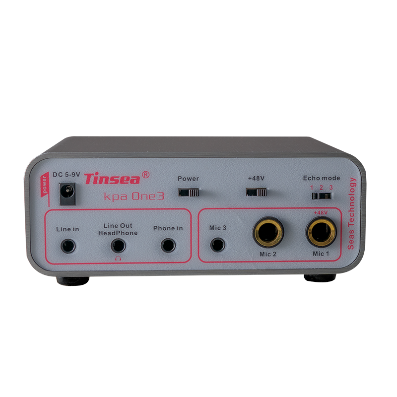 Tinsea Kpa One3 Professional Dynamic Mircophone Preamplifier for Audio Studio Sing Music Recording Guitar Suitable for SM58 voca enlarge