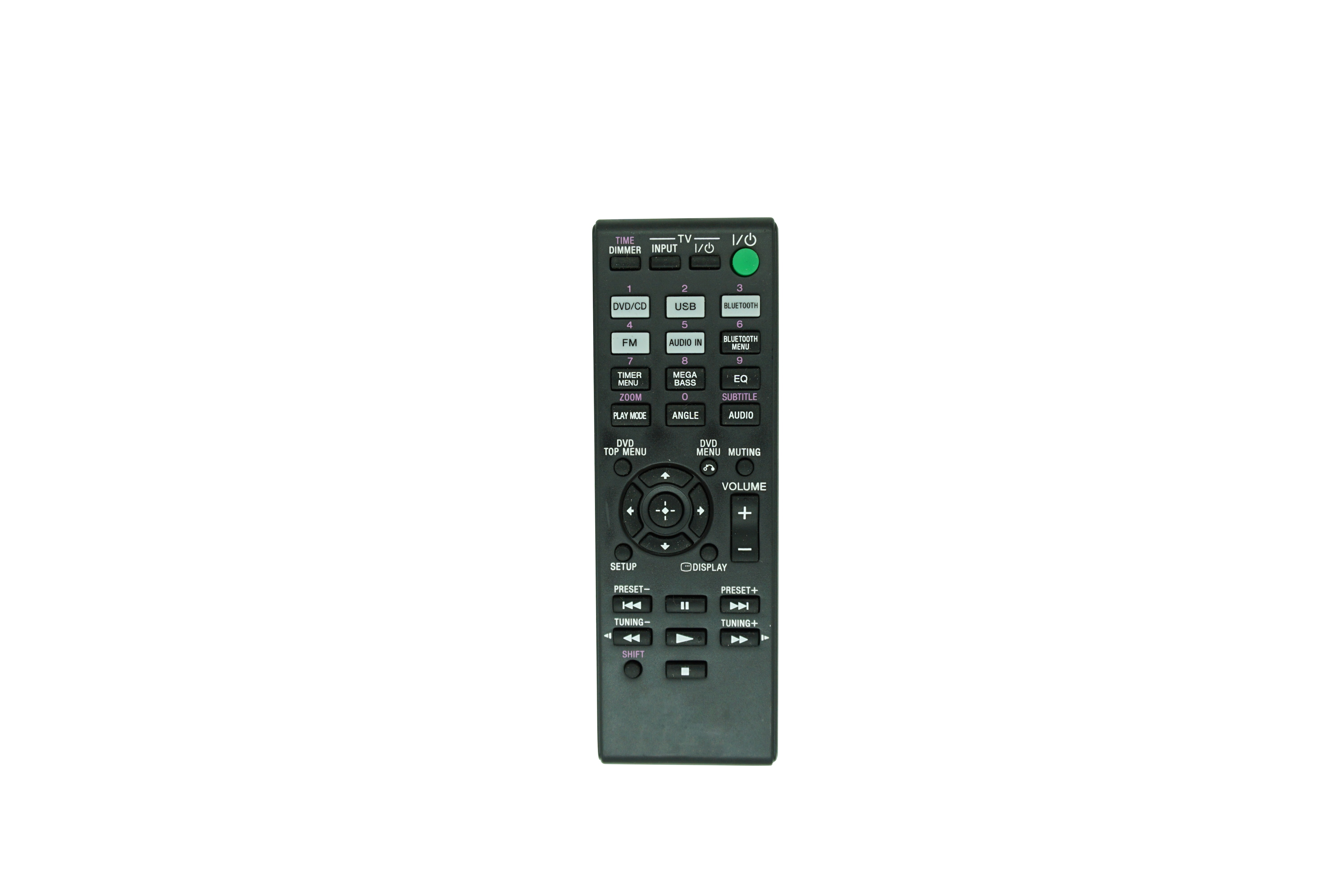 Replaced Remote Control For Sony RM-AMU214 CMT-SBT40D HCD-SBT40D Home Audio Stereo System