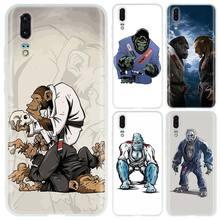 Soft Phone Case For Huawei P40 P30 P20 P10 Pro P8 P9 Lite P smart Z 2019 Plus thinking monkey jiu jitsu Covers P40lite