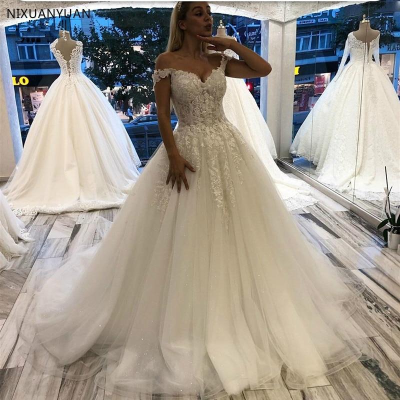 Bata De Novia encantadora De boda, vestido De baile sin hombros, vestido...