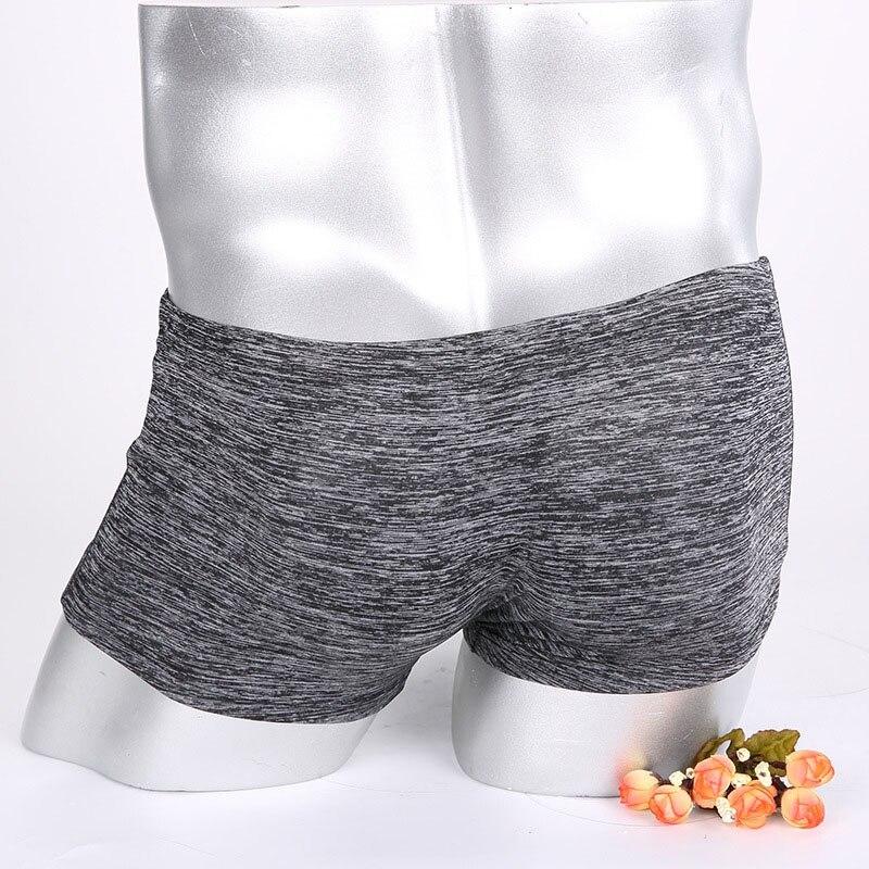 ¡Novedad! Calzoncillos Boxer sexis para hombre, ropa interior de cintura baja para adultos con mezcla de algodón (bolsa abultada), ropa interior exótica M L XL XXL