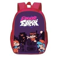 friday night funkin backpack teen bookbag music rhythm game printed school bag boys girls rucksack children bag travel mochila