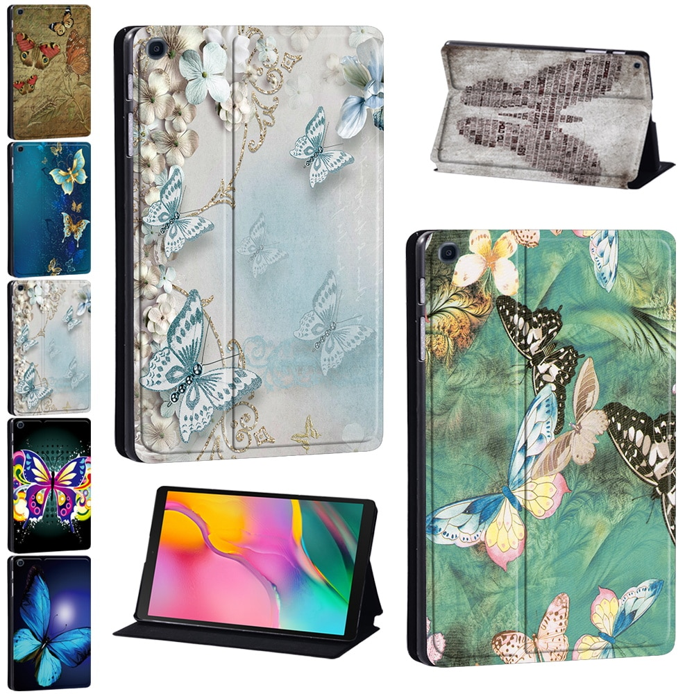 PU Leather Tablet Folding Stand Cover Case for Samsung Galaxy Tab A 8.0