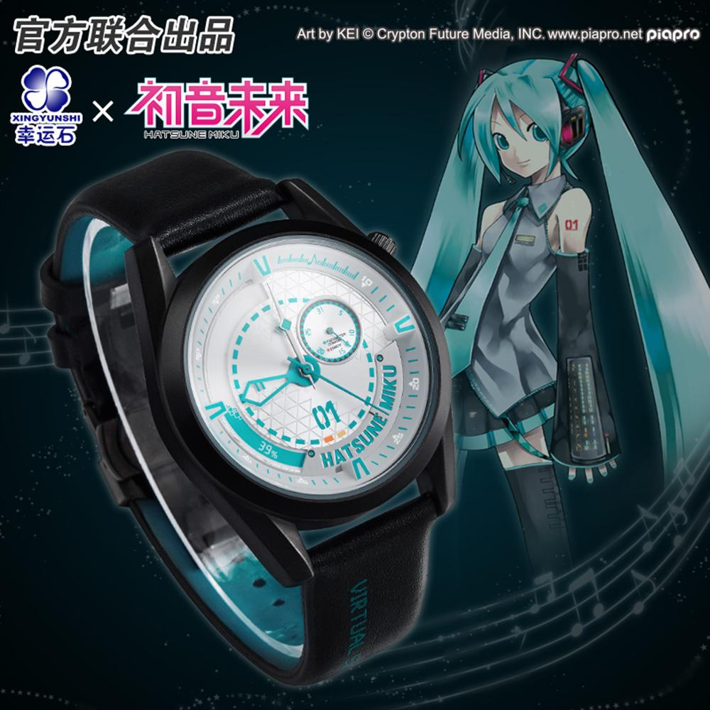 Hatsune Miku Anime reloj impermeable Manga papel Kagamine figura de acción disfraz de Vocaloid Relojes