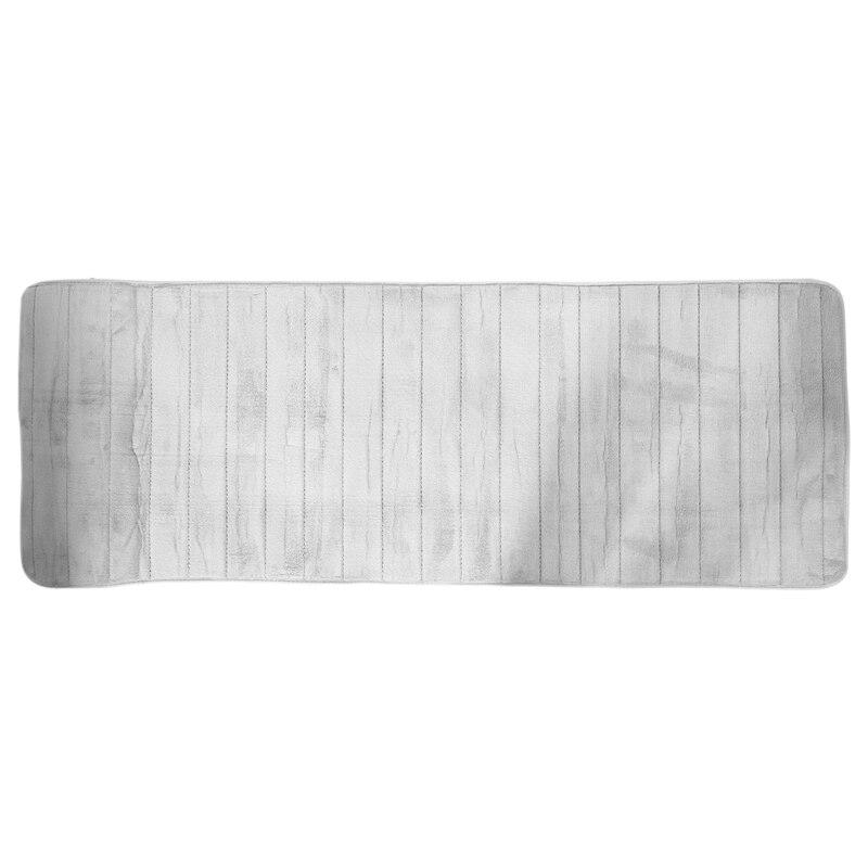 رغوة الذاكرة لينة حمام الحصير عدم الانزلاق ماصة الحمام السجاد اضافية كبيرة الحجم عداء حصيرة طويلة للمطبخ الحمام الأرضيات 60X16