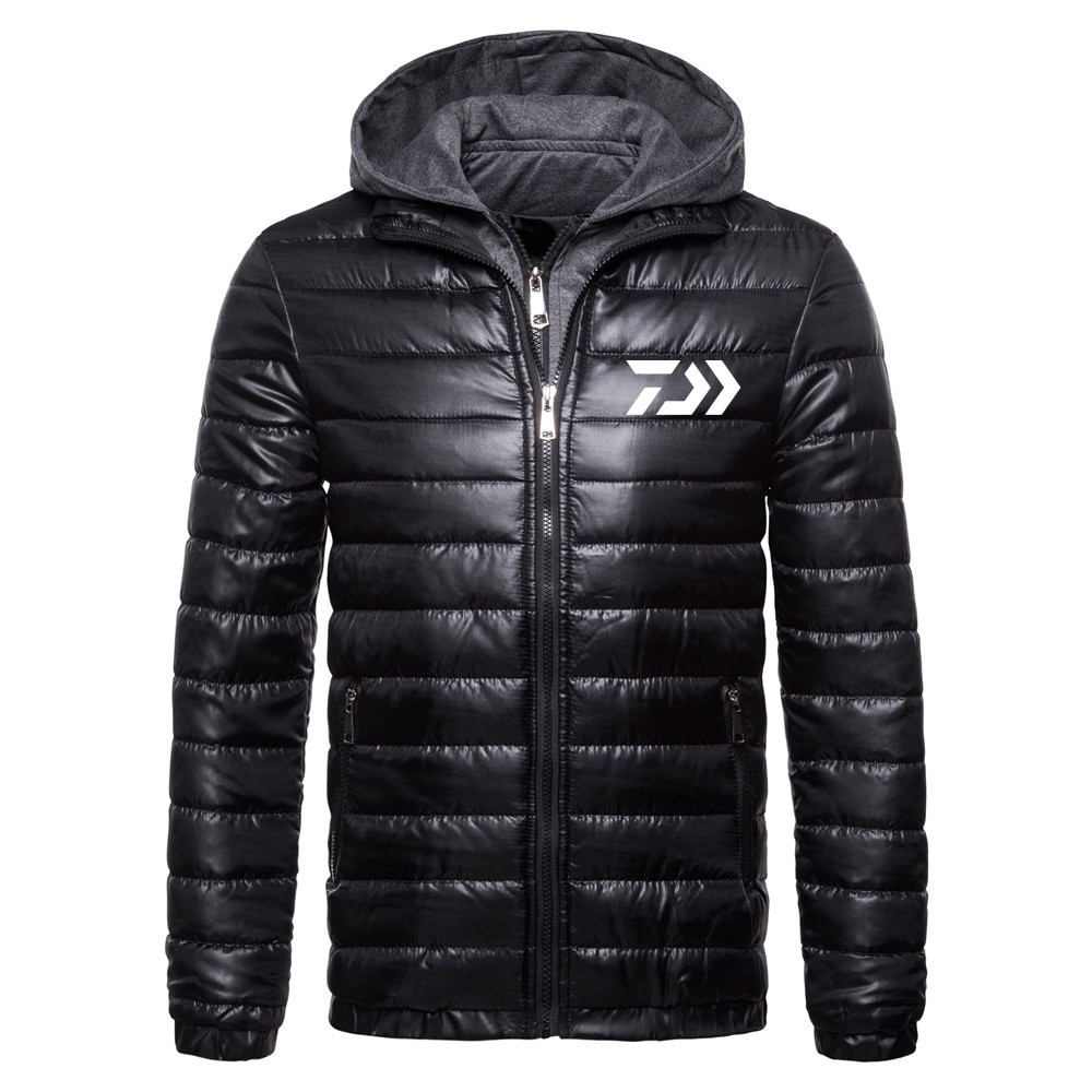 Фото - Winter Warm Men Jacket Coat Casual Autumn Stand Collar Puffer Thick Hat White Duck Parka Male Men's Winter Down Jacket With Hood covrlge trendy hooded men s white duck down jacket stand collar embroidered down jacket men winter warm causal coat us mwy034