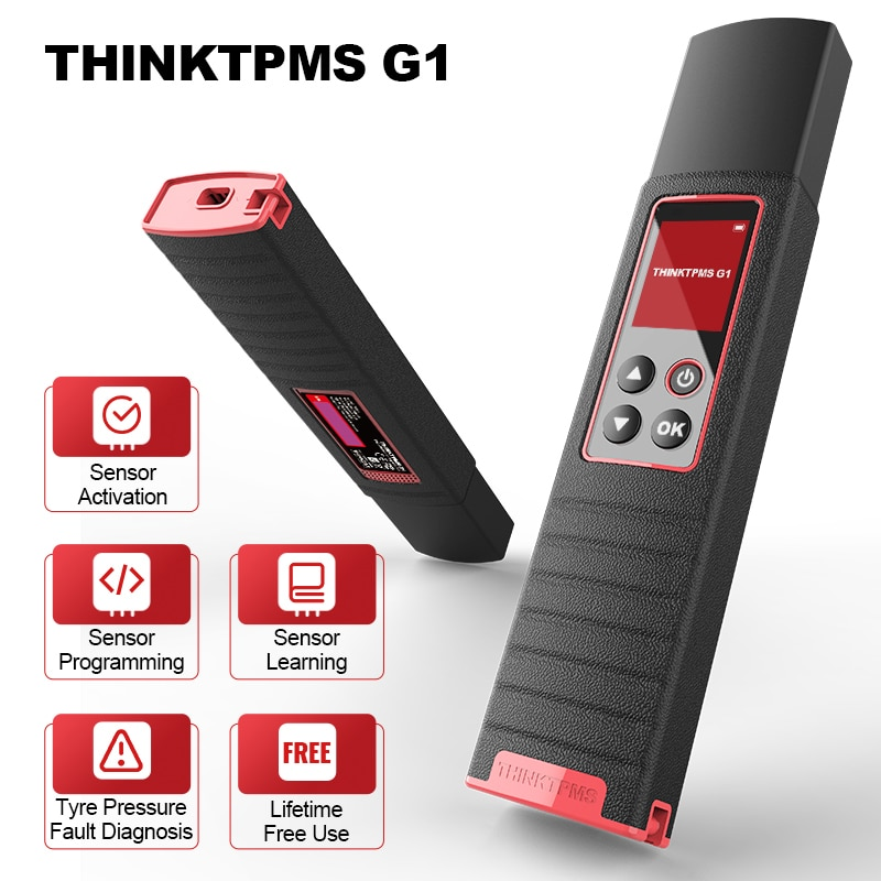 THINKTPMS G1 TPMS Universal All Cars Tire Pressure Inspection Tools Sensor Activation Reading Learning Programming Diagnosis
