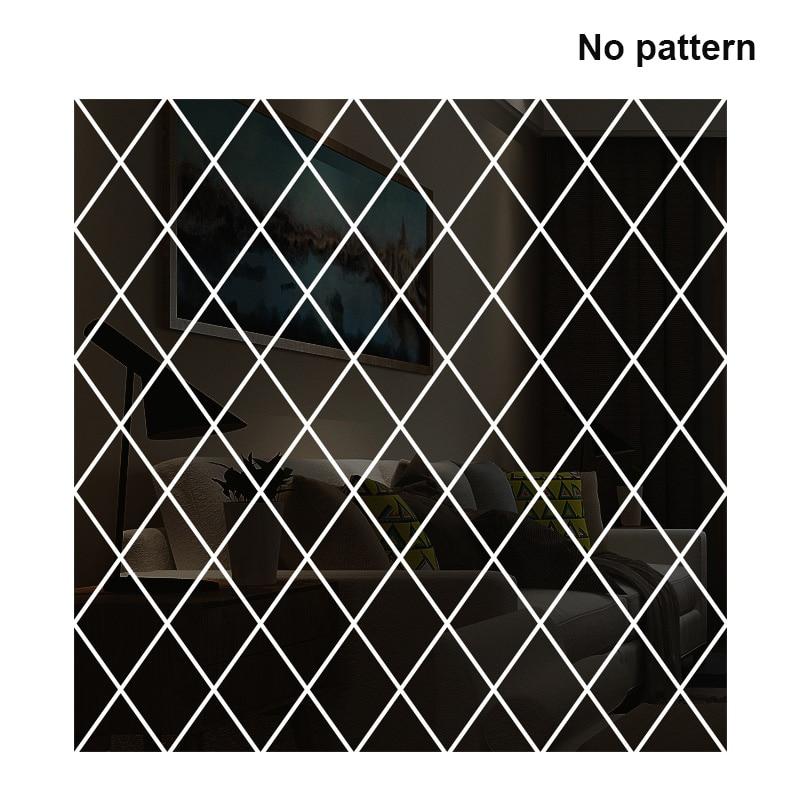 Adesivo de Parede Diamante Mosaico Parede Espelho Acrílico Antifouling Casa Decoração Abraço-ofertas