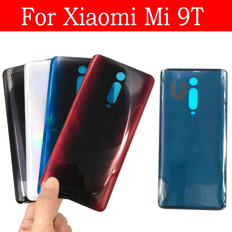 Battery Back Cover For Xiaomi Mi 9T / Redmi K20 Rear Glass Housing Case Replacement For Mi 9T 9 t Pro Rear Battery Glass Cover недорого