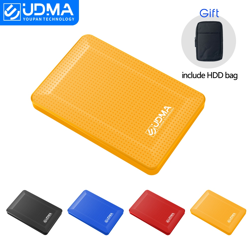 Original USB3.0 HDD External Hard Drive 2T 1TB 500G Disco duro externo Disque dur externe for PC, Mac,TV include HDD bag gift
