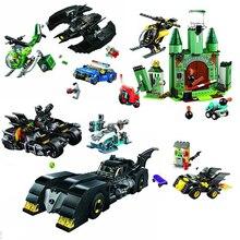 Nouveau Avengers 4 Endgame Spider Man Batman Marvel ensemble 76113 76114 76115 76119 blocs de construction briques jouets pour enfants
