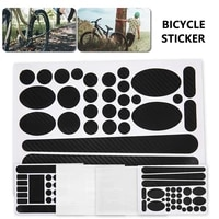 mountain bicycle cycling bike stickers decals mtb road bike frame sticker bicycle rack sticker paint protection film protect kit