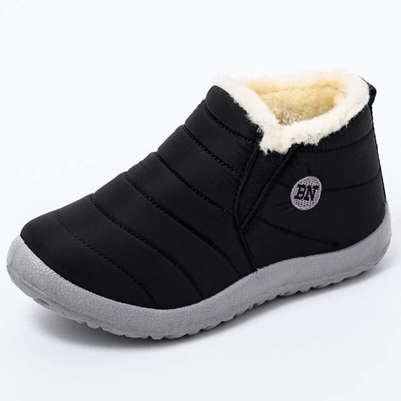 Mode femmes neige bottines plate-forme chaussures dhiver femmes décontracté femme bottes Style rétro botte femme fond épais femme chaussures