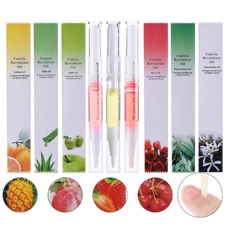 5ml prego cutícula óleo revitalizador nutrição ferramentas da arte do prego para cuidados manicure prego selo polonês caneta ferramenta cutícula caneta óleo