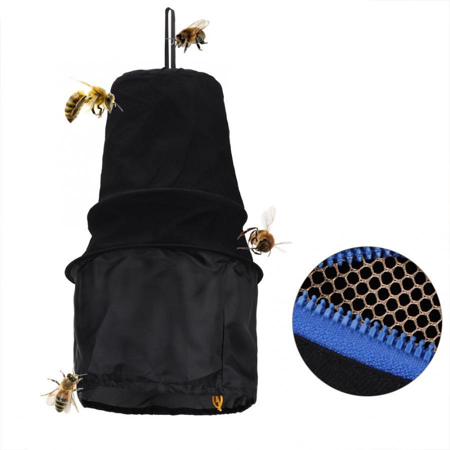 Jaula negra para abejas, trampa caliente, atrapamoscas, juego de Herramientas de apicultura, caja de acoplamiento, Herramientas de Apicultura