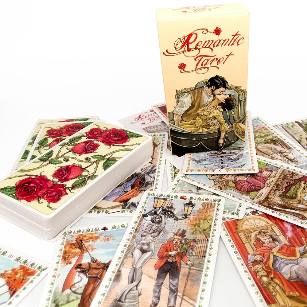 Romantic Tarot Cards Nouveau Tarot  Occult Tarot Roses Lenormand Tarot of the Divine Tarot Deck Card Games недорого