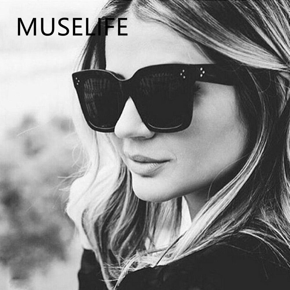 2022 солнцезащитные очки MUSELIFE, женские очки с плоским верхом, женские роскошные брендовые солнцезащитные очки, женские солнцезащитные очки с ...