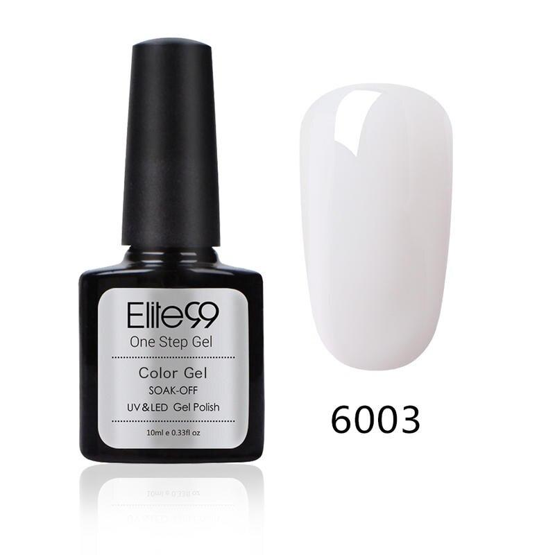 Elite99 10ml 3 em 1 um passo unha polonês para unhas manicure maquiagem verniz não há necessidade superior revestimento base híbrido unha gel polonês