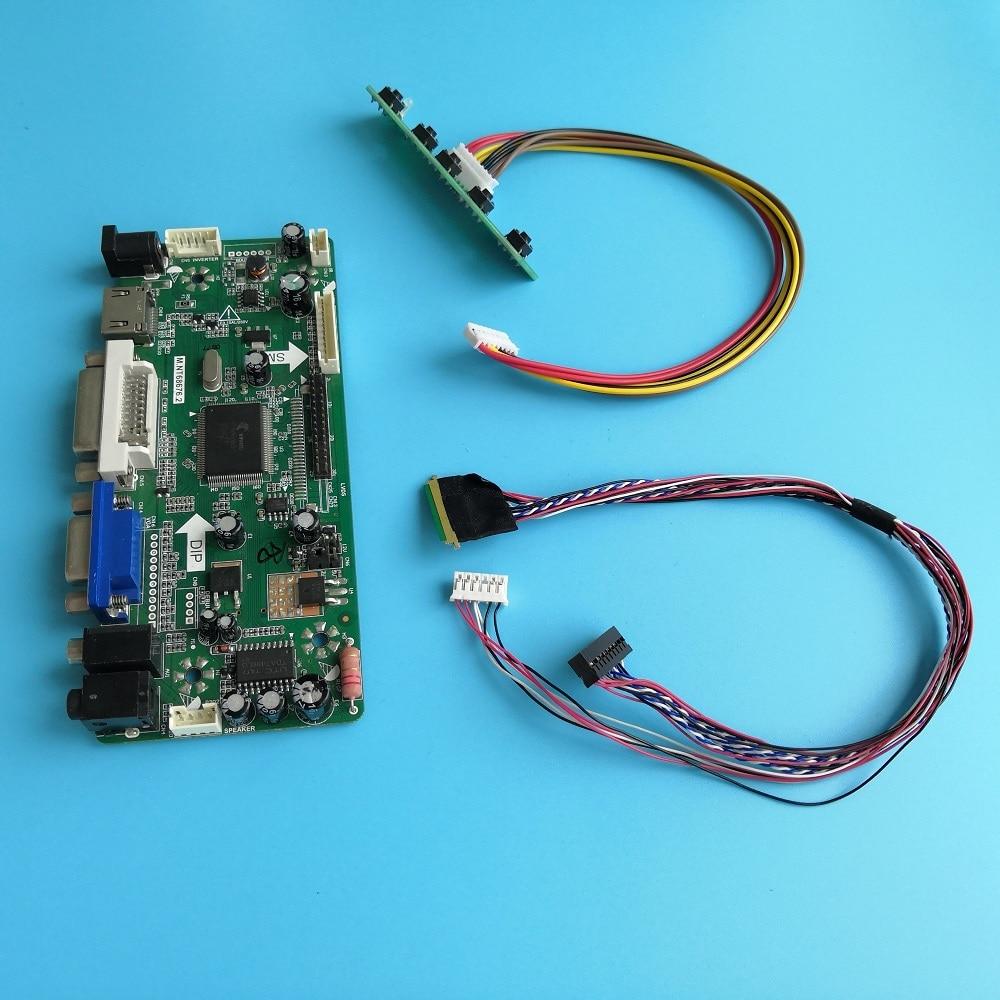 كيت ل LP133WH1-TLD1 LED LCD 1366X768 M.NT68676 VGA شاشة 40pin LVDS 13.3