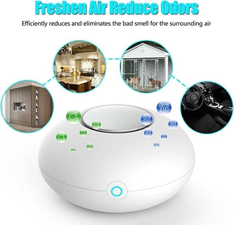 USB Anion Generator Negative Ion Air Purifier Ozone Deodorizer Car Odor Remover Formaldehyde Smoke  - buy with discount