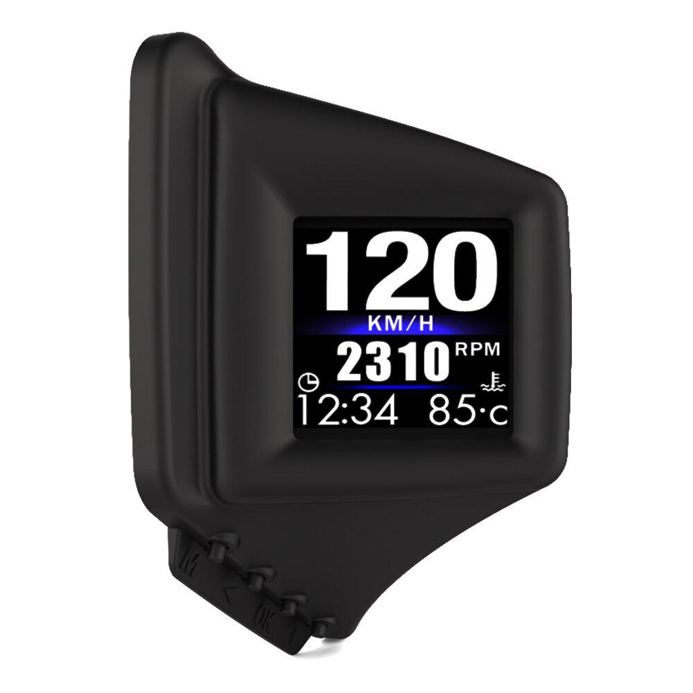 Автомобильный GPS Спидометр Одометр проекционный дисплей с отображением превышения скорости сигнализация GPS Вождение компьютер автомобиль...