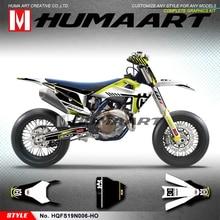 HUMAART Complete Graphics Off Road Sticker MX Wrap for Husqvarna FS TC FC TX FX TE FE 125 150 250 300 350 450 501 2019 2020