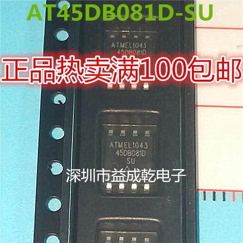 100% Original Novo Em Stock 45DB081D-SU AT45DB081D-SU SOP8 (10 pçs/lote)