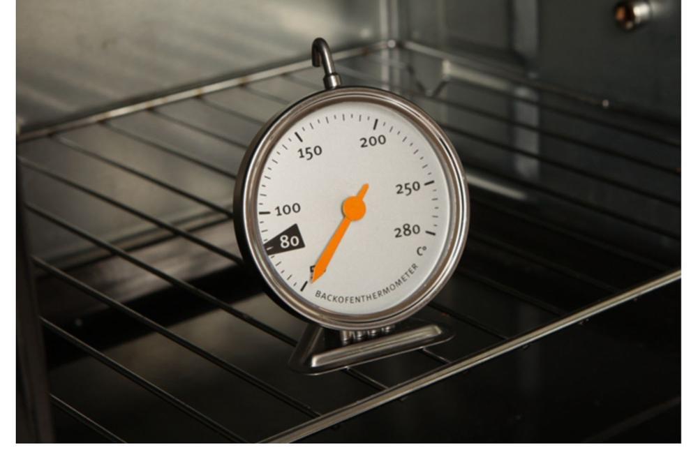 Termómetro eléctrico para horno de cocina, termómetro para horno de acero inoxidable, herramientas especiales para hornear, 50-280 °C #398465